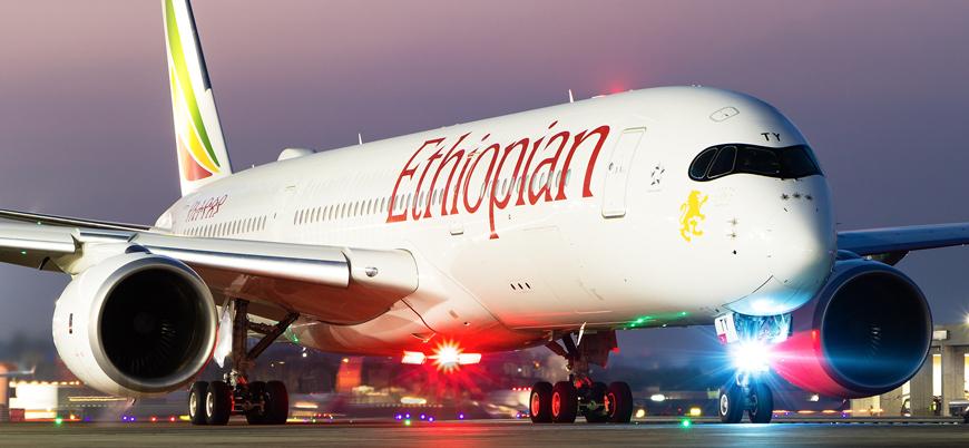 157 kişiyi taşıyan Etiyopya yolcu uçağı düştü
