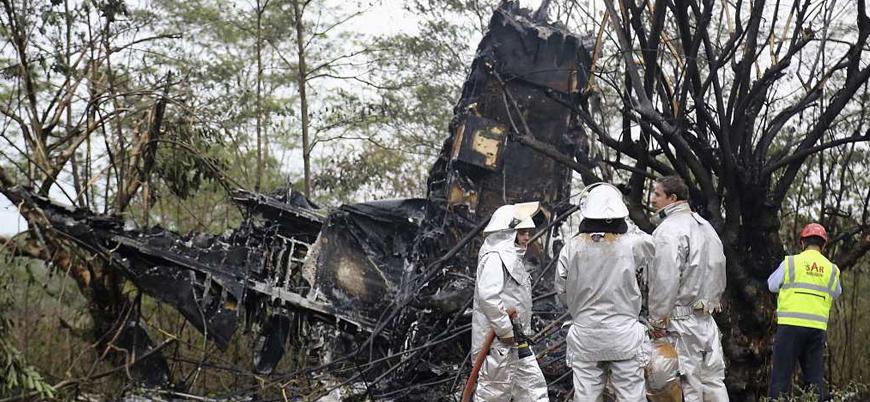Kolombiya'da uçak düştü: 14 kişi yaşamını yitirdi
