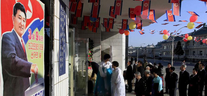 Kuzey Kore'de parlamento seçimi: Her bölgede tek aday