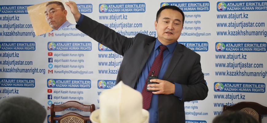 Kazakistan Doğu Türkistanlıların haklarını savunan aktivisti alıkoydu