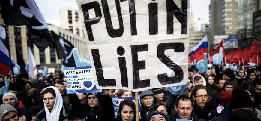 Rusya'dan 'internet kesintisi' açıklaması: Herkes özgür internetten yana