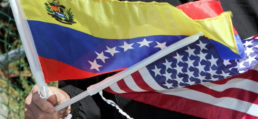 ABD tüm diplomatik personelini Venezula'dan çekme kararı aldı
