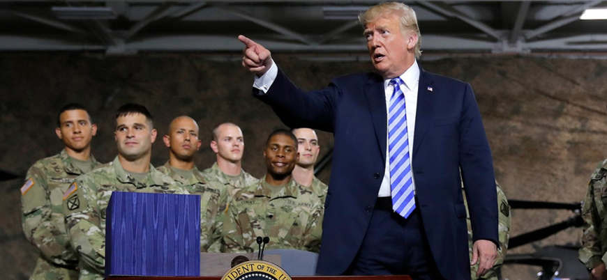 Trump Pentagon için 750 milyar dolar fon istedi