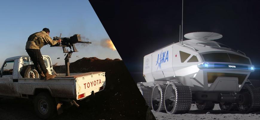 Toyota Ay'a gidiyor