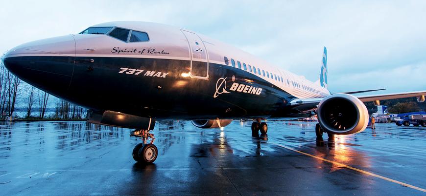 Boeing tüm 737 Max model uçakların uçuşlarını durdurdu