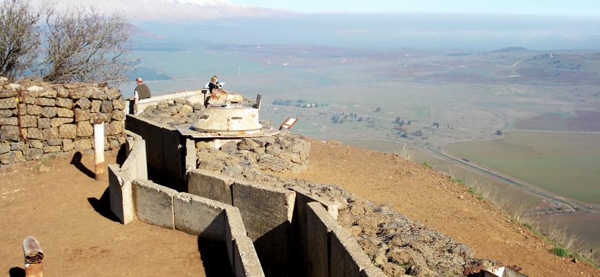ABD: Golan Tepeleri İsrail kontrolünde