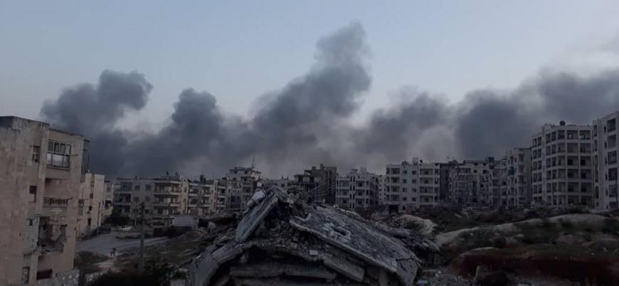 Rus savaş uçakları İdlib şehir merkezini vurdu: 15 ölü onlarca yaralı