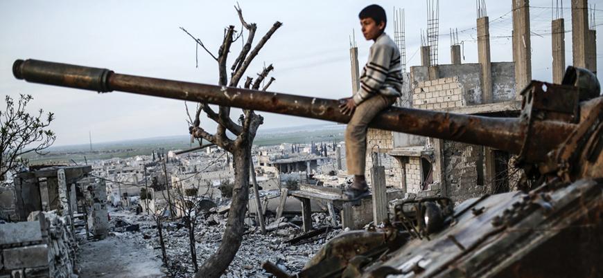 Suriye iç savaşı 9'uncu yılına girdi