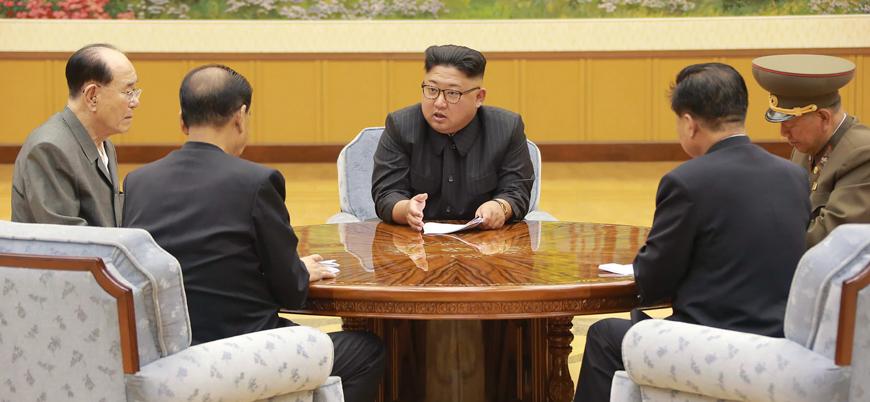 Kuzey Kore: Nükleer silahsızlanma müzakerelerini askıya alabiliriz