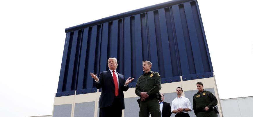Trump'tan Kongre'nin Meksika Duvarı kararına veto