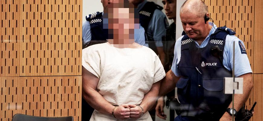 Yeni Zelanda cami katliamının faili hakim karşısında