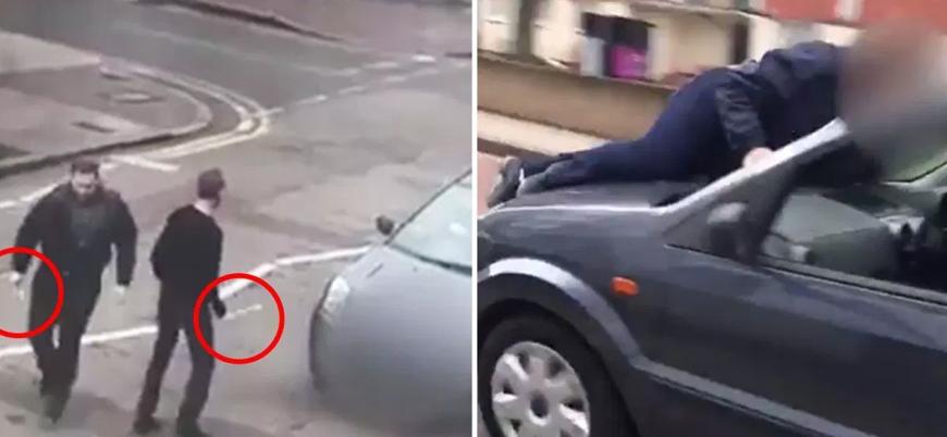 Londra'da Müslümanlara çekiç ve sopalı saldırı