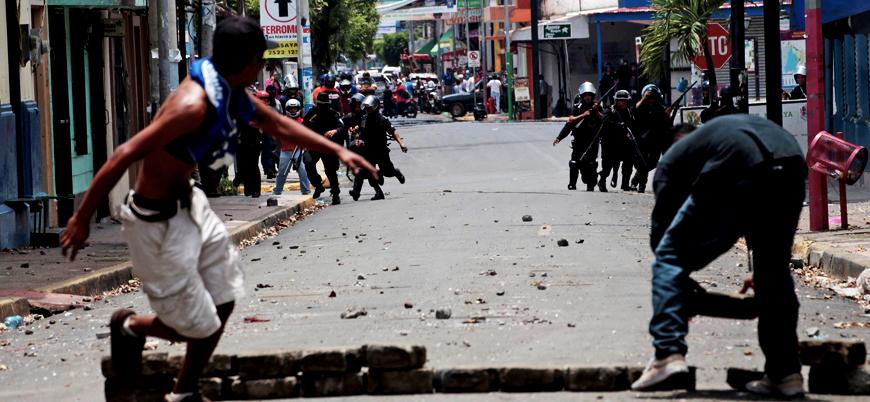 Nikaragua'da hükümet karşıtı gösteri: 100'den fazla gözaltı