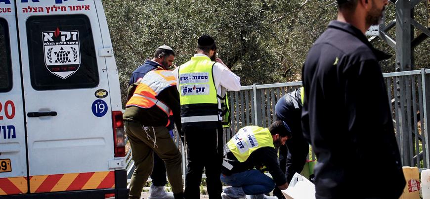 Batı Şeria'da bıçaklı ve silahlı saldırı: En az bir İsrail askeri öldü
