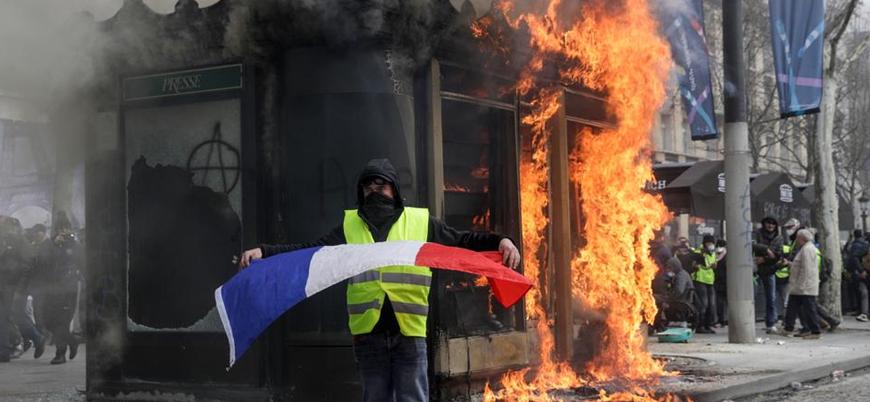 Fransa Champs-Elysees caddesindeki gösterileri yasaklamaya hazırlanıyor
