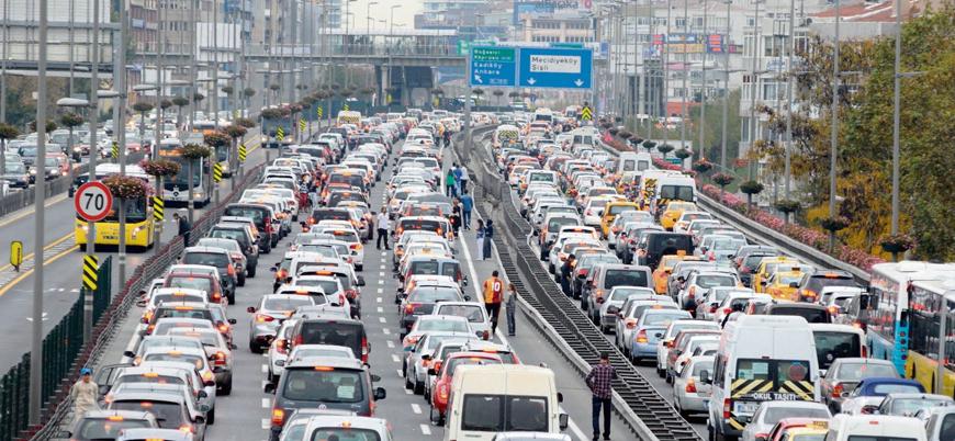 Türkiye'de 15 yılda kişi başına düşen araç sayısı ikiye katlandı