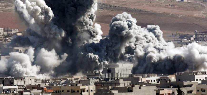 """""""ABD'nin Suriye'deki hava saldırılarında üç binden fazla insan öldü"""""""
