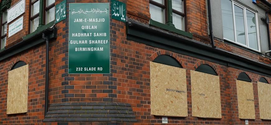 İngiltere'de 5 camiye balyozla saldırı düzenlendi