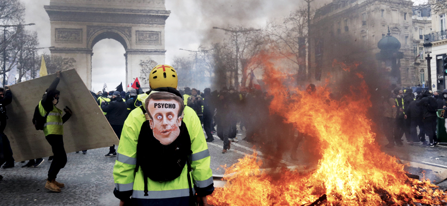 Sarı Yelekliler protestolarına kısmi yasak: Ordu göreve çağrıldı