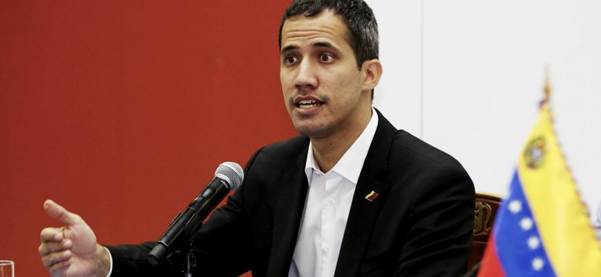 Guaido'dan ABD'nin Venezuela'ya yaptırım kararına destek