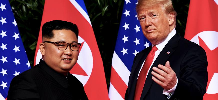 Trump'tan Kuzey Kore'ye yaptırım jesti: İptal talimatı verdi
