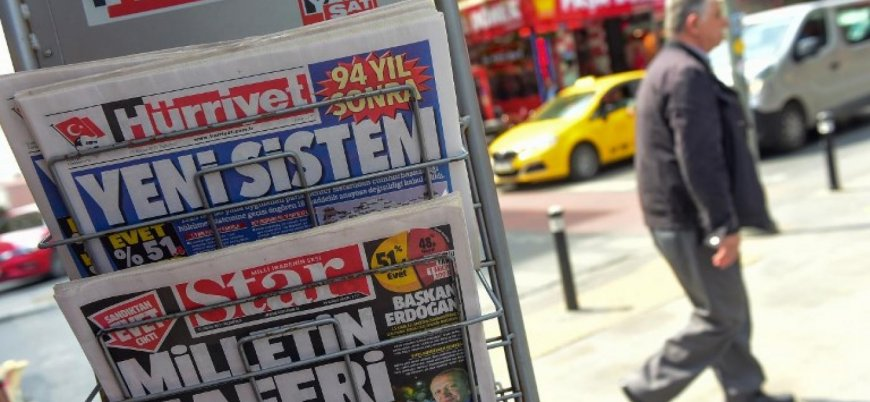 Türkiye basın özgürlüğünde 180 ülke arasında 153'üncü
