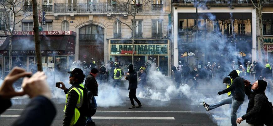 Fransız hükümetinin önlemlerine rağmen Sarı Yelekliler yeniden sokakta