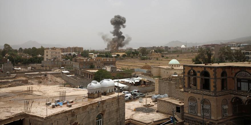 Suudi Arabistan Yemen'de sivilleri vuruyor: 4'ü çocuk 7 ölü