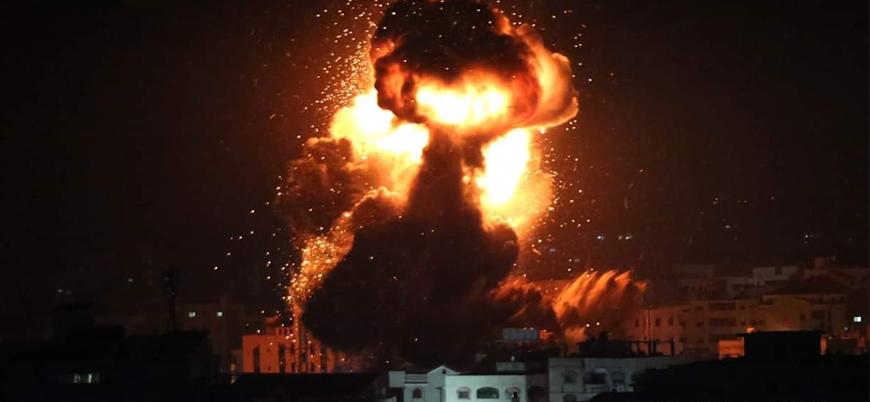 İsrail Halep'te İran ve Esed rejimini vurdu