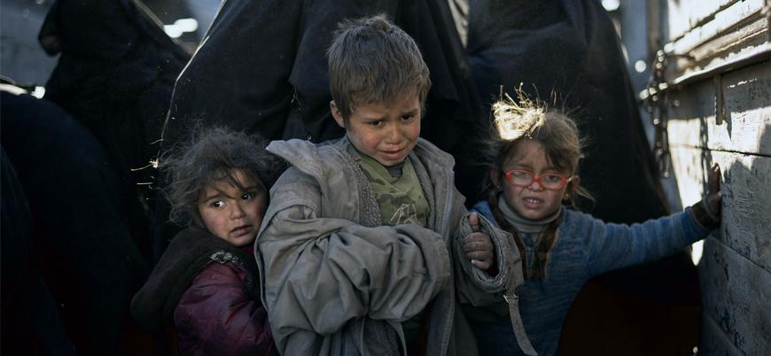 Suriye'de yabancı IŞİD'lilerin aileleri YPG kontrolündeki kamplarda tutuluyor