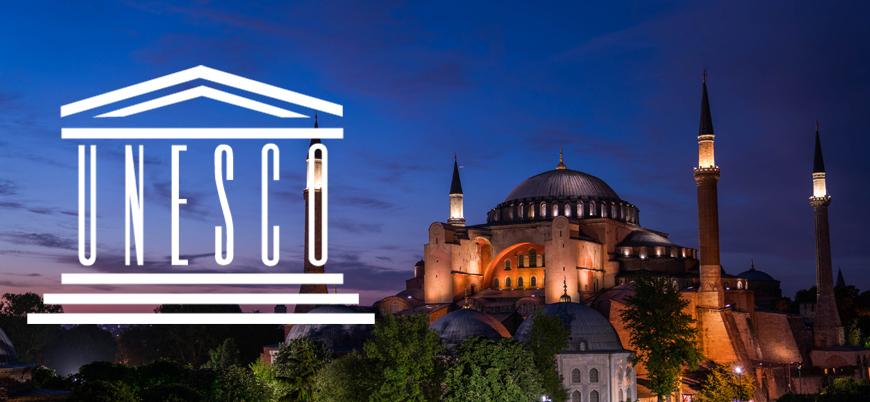 UNESCO: Ayasofya'nın isminin değişmesi için onayımız gerekir