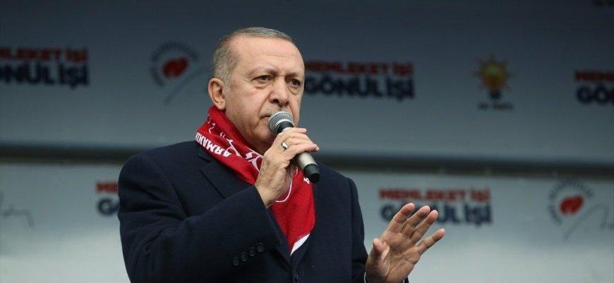 Erdoğan: Türkiye'nin ekonomisinin sorumlusu benim, yerel yöneticilerin yapacağı hiçbir şey yok