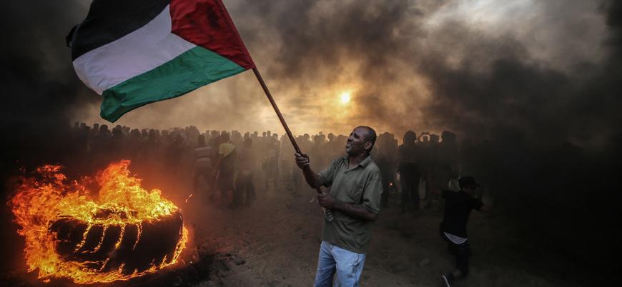 Gazze'deki gösterilerde bilanço belli oldu