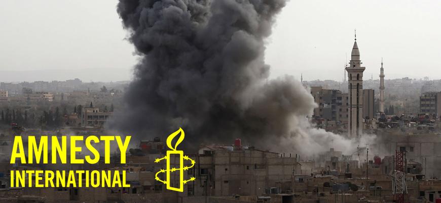 Uluslararası Af Örgütü'nden İdlib raporu: Rus destekli Esed rejimi sivilleri hedef alıyor