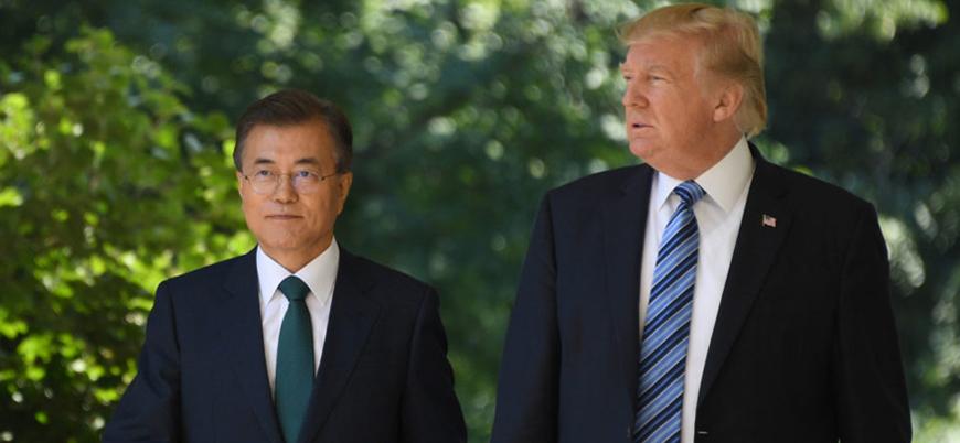 Trump Güney Kore lideri ile Beyaz Saray'da görüşecek