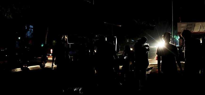 Venezuela'da elektrik krizi devam ediyor: Bir ayda üçüncü kesinti