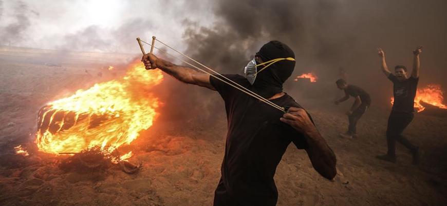 Gazze sınırında bir Filistinli daha İsrail askerlerince öldürüldü