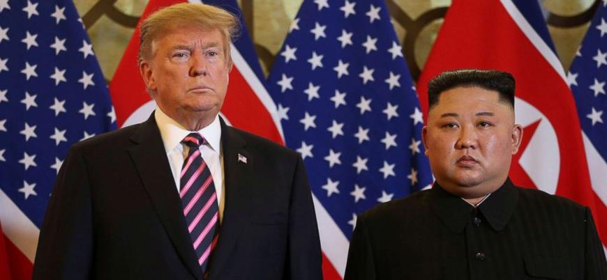 Trump Kuzey Kore'den nükleer silahlarını ABD'ye devretmesini istedi