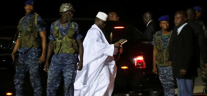 Gambiya'nın eski lideri zimmetine 362 milyon dolar geçirdi iddiası