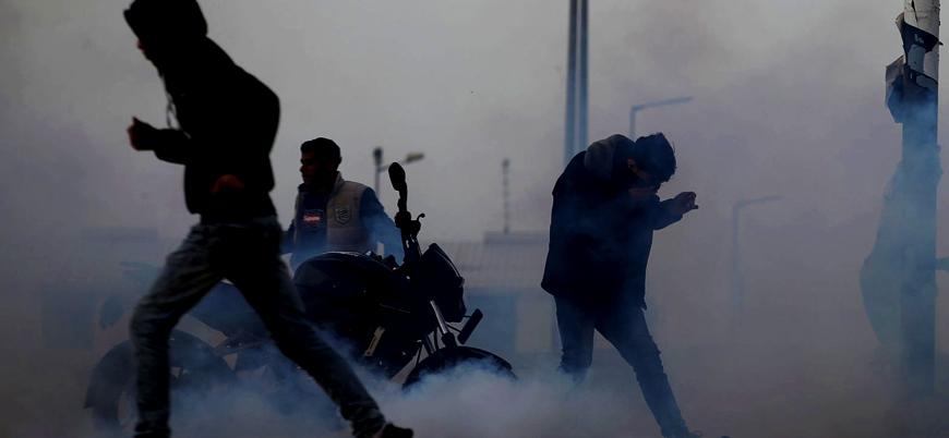 Gazze Şeridi'nde düzenlenen gösterilerde ölü sayısı 2'ye yükseldi
