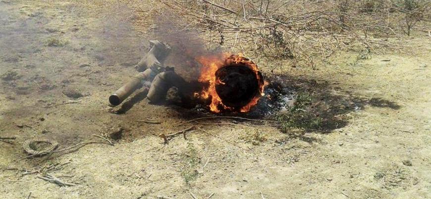 Hindistan'a ait MiG-27 model savaş uçağı düştü