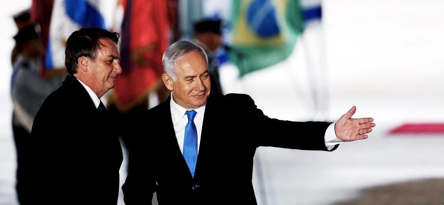 İsrail: Brezilya Kudüs'te diplomatik ofis açacak
