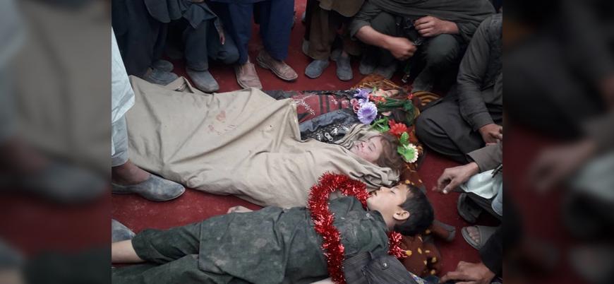 ABD Afganistan'da sivilleri vurdu: 5'i çocuk 9 sivil öldü