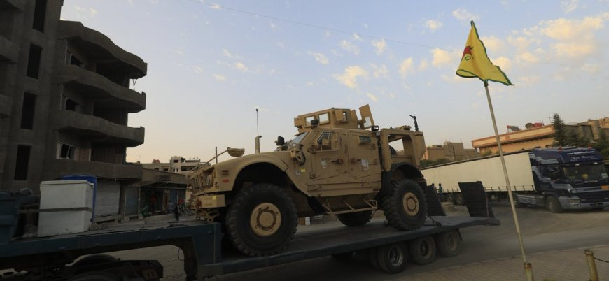 ABD'den Suriye'nin kuzeyindeki YPG'ye yeni sevkiyat