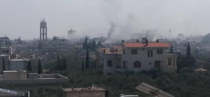 Esed rejimi İdlib'de pazar yerini vurdu: En az 15 ölü