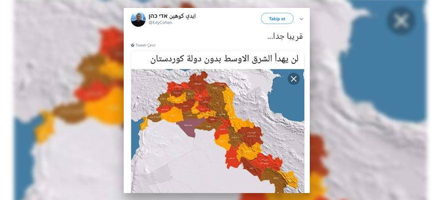 """İsrailli akademisyen: """"Kürdistan çok yakında"""""""