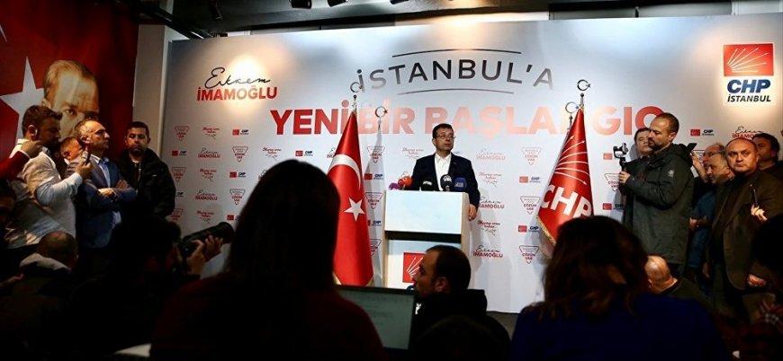 CHP'li Ekrem İmamoğlu: Aradaki fark 19 bin 552