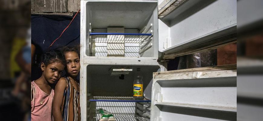 Venezuela'da 1.1 milyon çocuk yardıma muhtaç