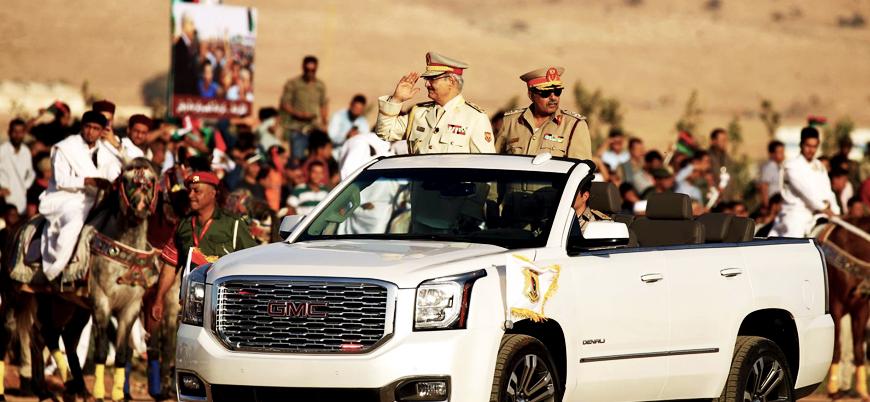 Libya'da Hafter güçleri Trablus'a ilerliyor: 3 nokta ele geçirildi