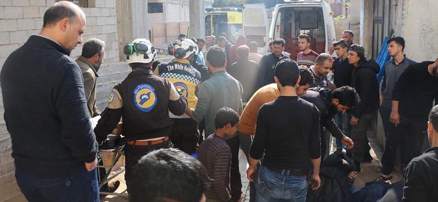Esed rejimi İdlib'i yoğun şekilde vuruyor: 12 ölü onlarca yaralı